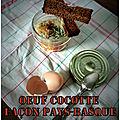 Oeuf cocotte façon pays-basque