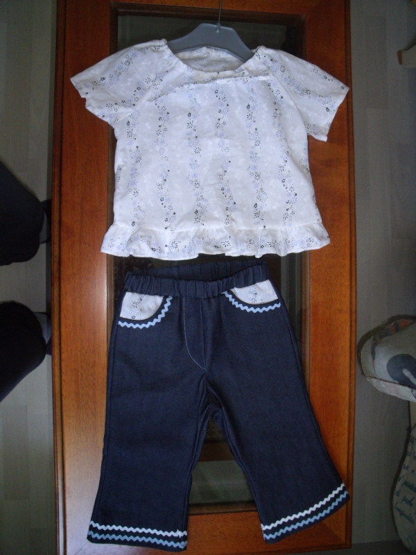 ensemble fillette 2 ans