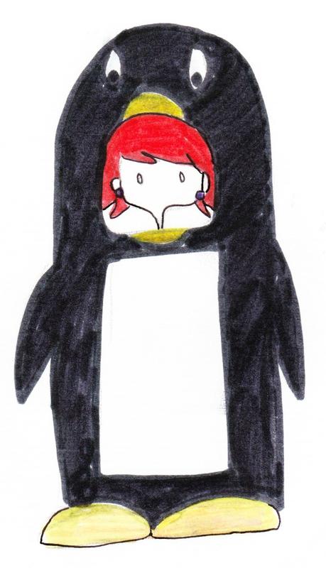 Je vous expliquerai, qui est cette personne au cheveux rouge.