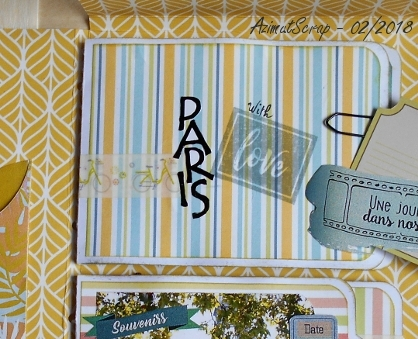 Détail sour le chipboard