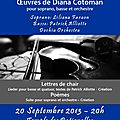 Concert Dochia 20 sept 2013