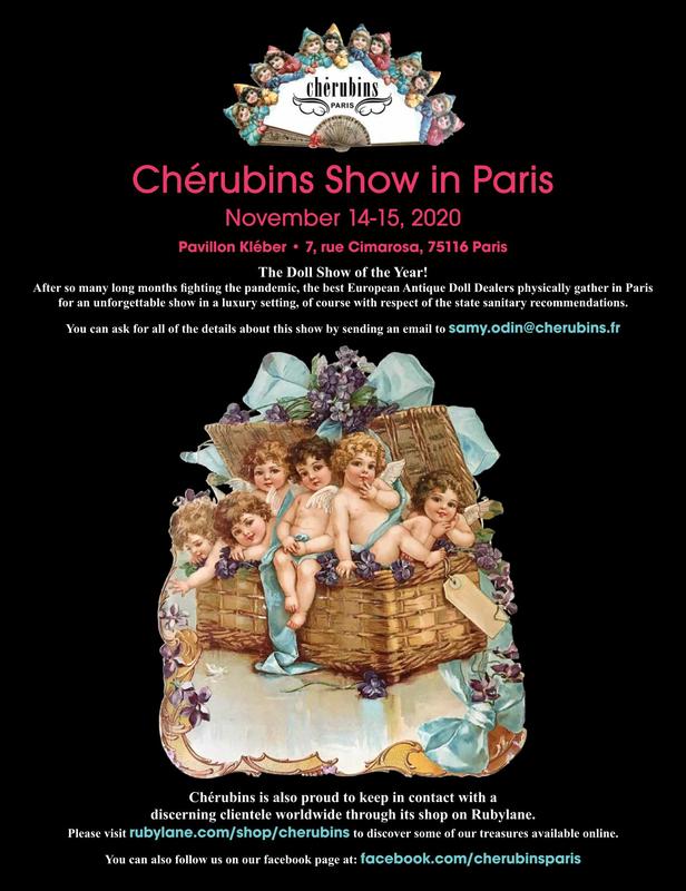 Cherubins Show 2020 flyer