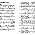 Master blaster (partition - sheet-music)