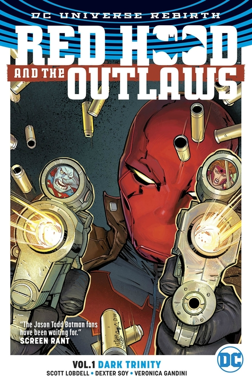 rebirth red hood and the outlaws vol 01 TP dark trinity