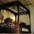 Lit nuptial chateau de Mauriac