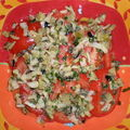 Salade de tomates fraiches a ma facon