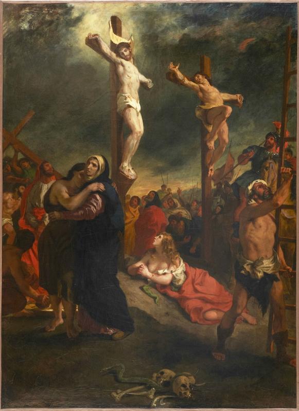 le christ de Delacroix