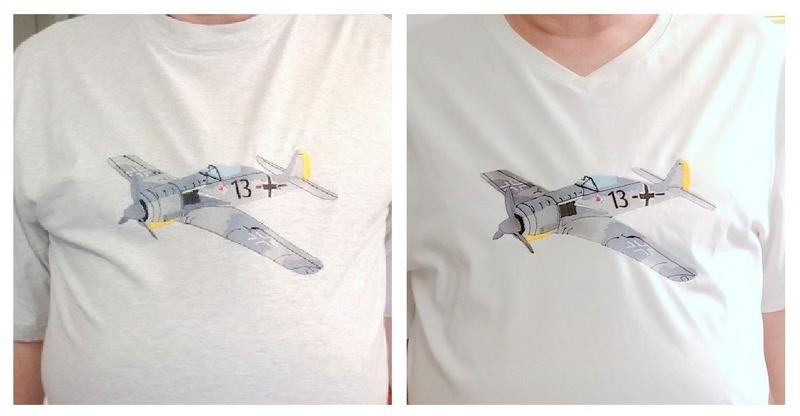 Focke Wulfe 190 montage