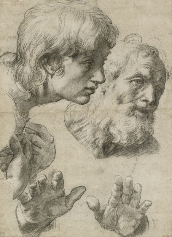 Study_of_head_and_hand_1519-20