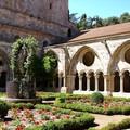 Abbaye sainte-marie de fontfroide, le cloître