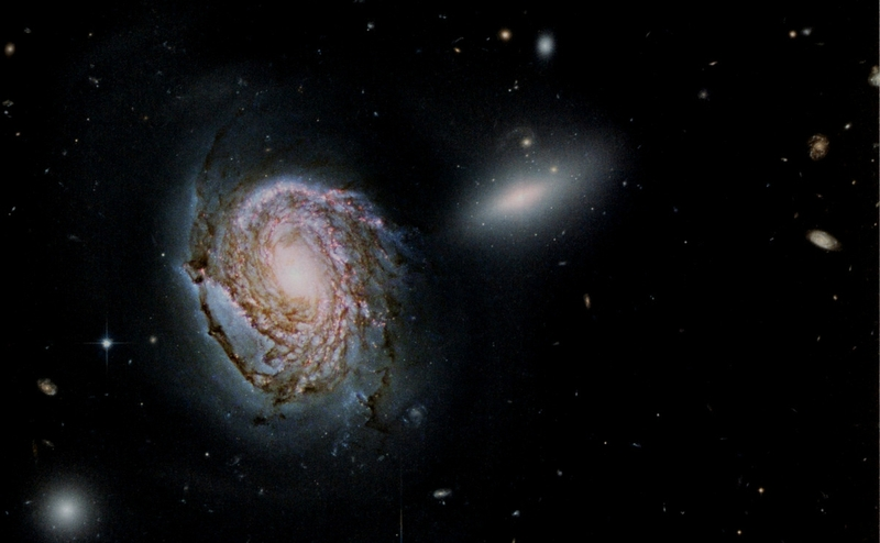 Galaxie 200 K° NGC 4911 Hubble