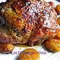 Pintade farcie aux abricots secs et aux pignons