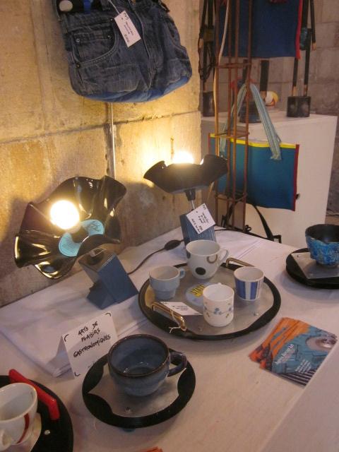 2016 - mai - du 14 au 16 - Salon RE-CREATION de Touques - Stand Agnès Récup'Art (4)