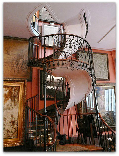 escalier gustave moreau