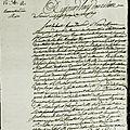 Le 2 février 1790 à mamers : élection d'un nouveau maire.