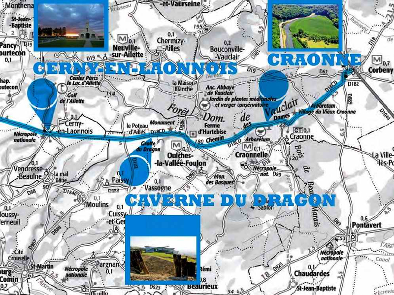 Chemin des dames map2