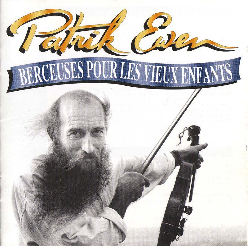 BERCEUSES POUR LES VIEUX ENFANTS (cd)- Patrik Ewen