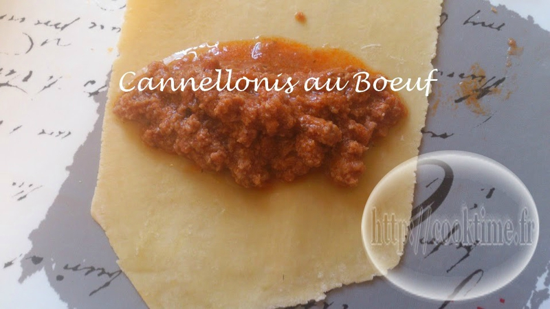 Cannellonis au boeuf 4