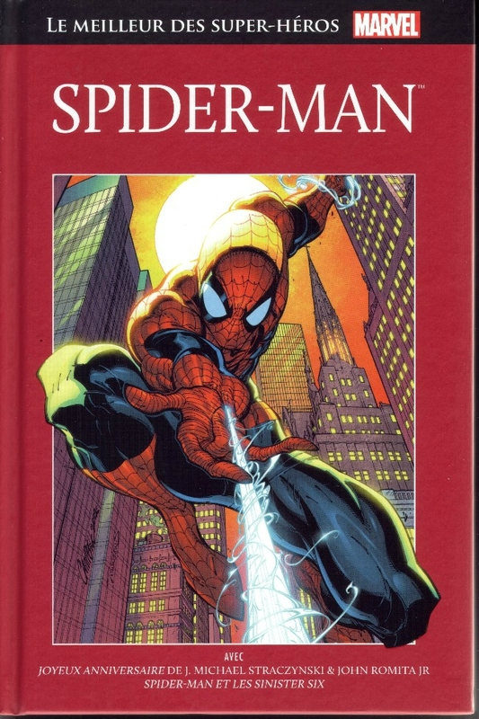 hachette 02 spiderman