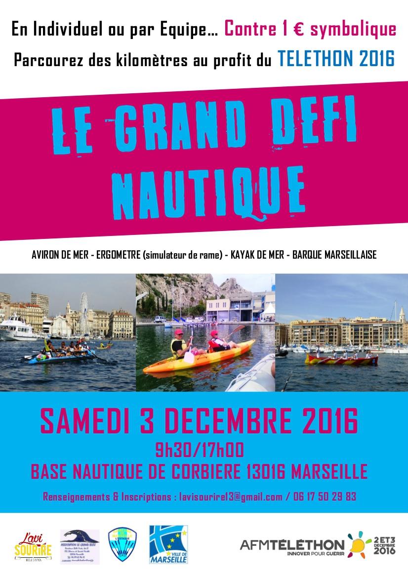 RAME TRADITIONNELLE - PAS DE SORTIE LE 26 Novembre 16 - TELETHON 2016