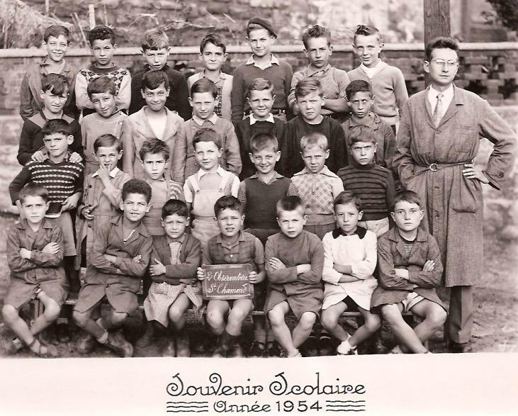 école de l'Observatoire 1954