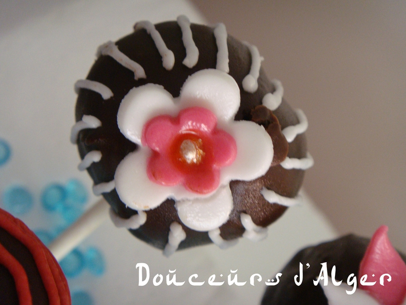 cake pops flower