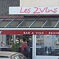 Les 2 vins capbreton landes bar à vins