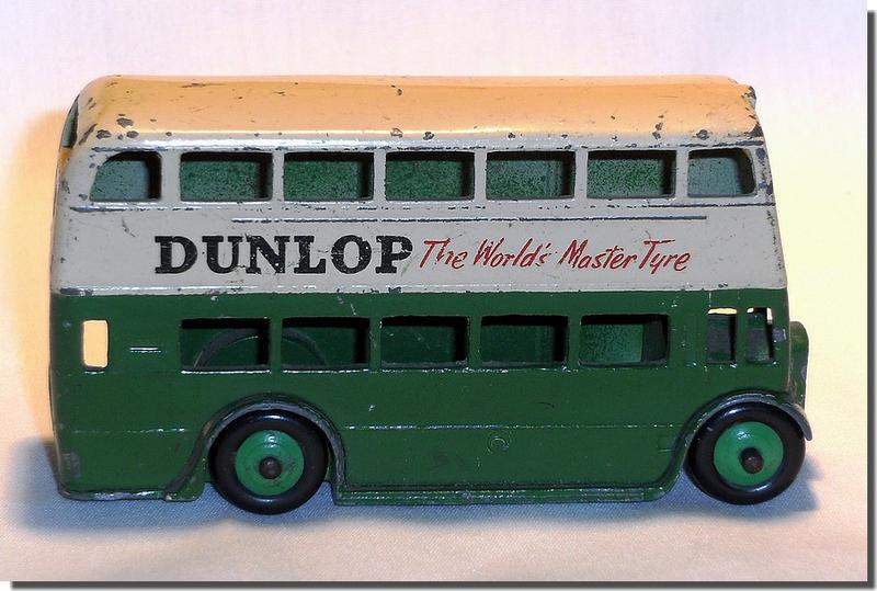 Dinky Toys 290 Autobus Dunlop vert A 4