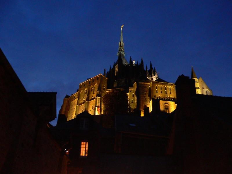 Nuit sur le Mont Saint Michel