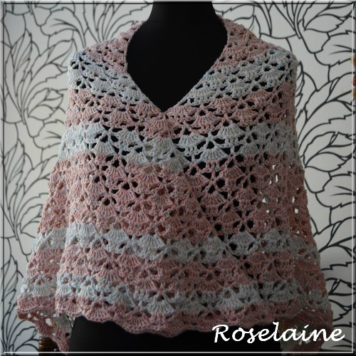 Roselaine 74 South Bay Shawlette