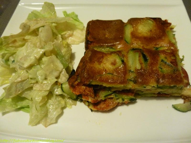 Gâteau invisible courgettes et chorizo (34)