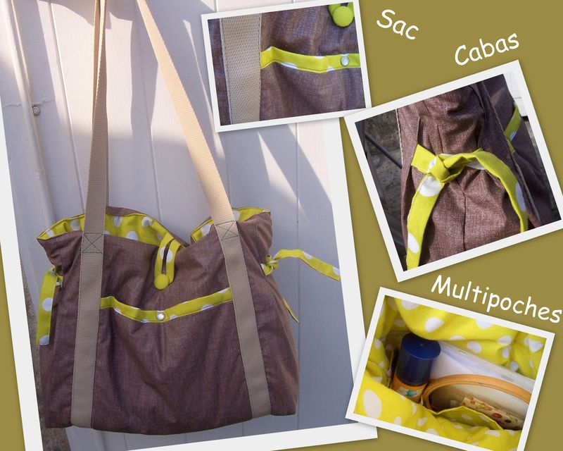 SAC CABAS MULTIPOCHES