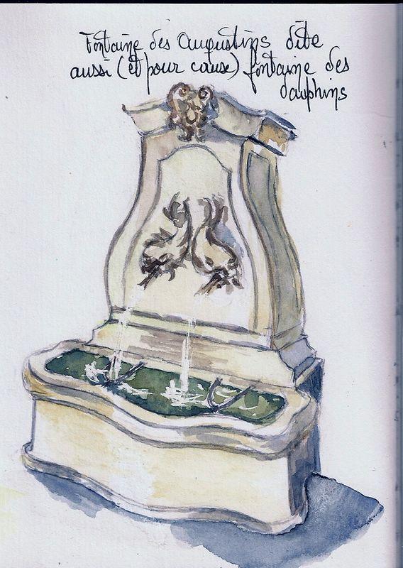 Pernes-Les-Fontaines : Fontaines des Dauphins