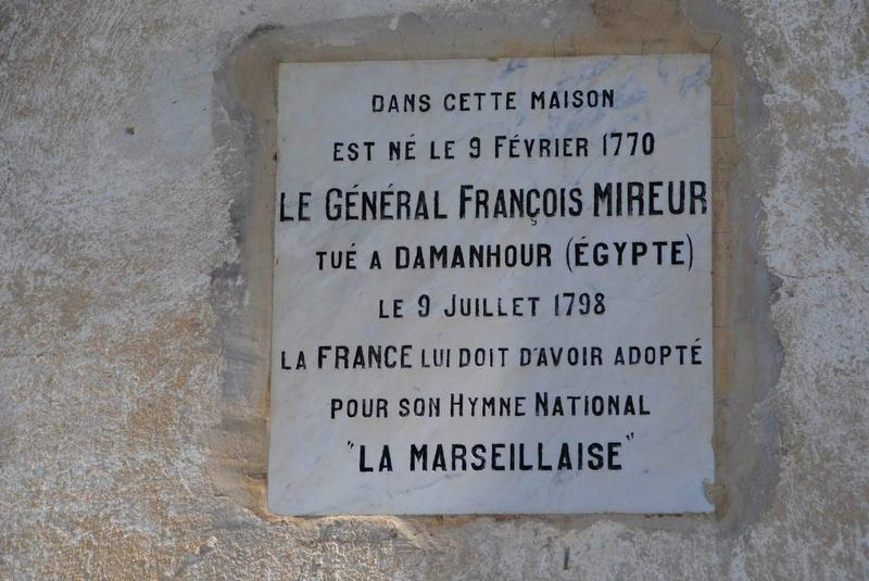 Plaque François Mireur