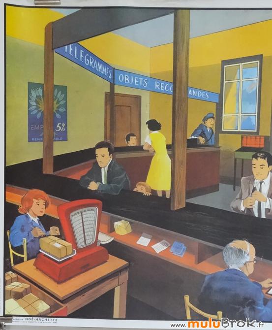 Affiche-LA-POSTE-2-Ogé-muluBrok-Vintage