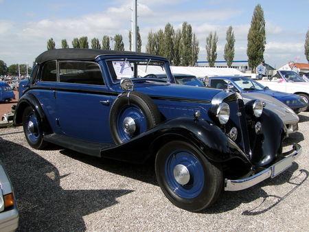 HORCH 830 BK Cabriolet 1934 Bourse de Crehange 2009 2
