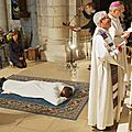 Ordination diaconale de Gilles