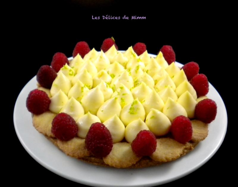 Tarte citron framboises avec un reste de pâte 6
