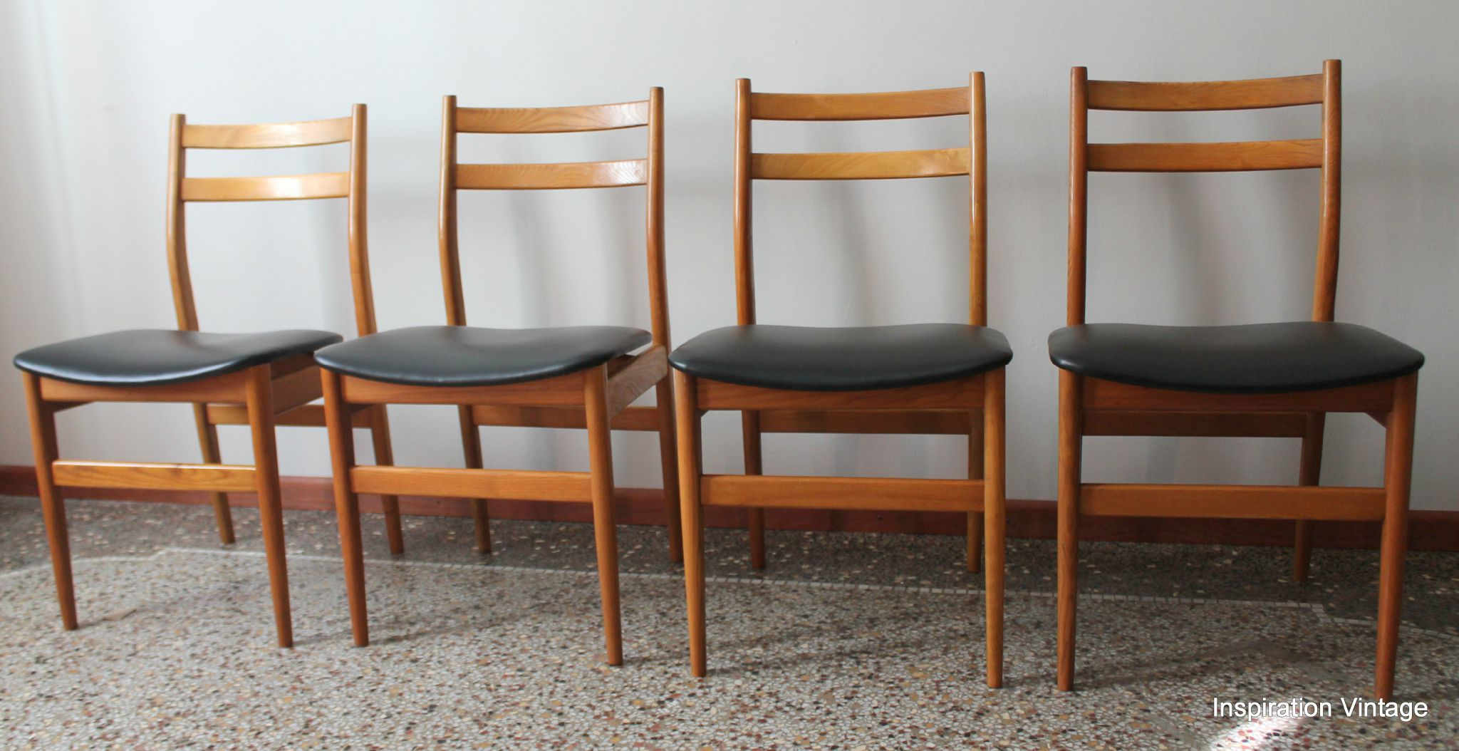 chaises style scandinave 70s - Chaise Danoise
