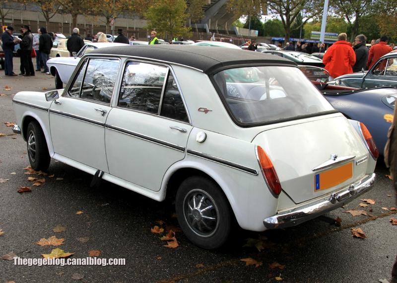 Morris 1300 GT MKIII berline 4 portes (1971-1974)(Retrorencard novembre 2013) 02
