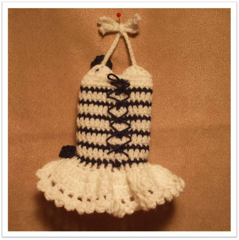 Robe crochet02