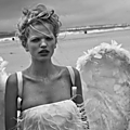 Daphne groeneveld by peter lindbergh for numéro #126