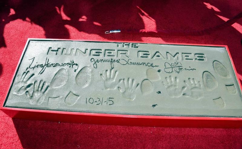 Hunger Games Walk Of Fame 09