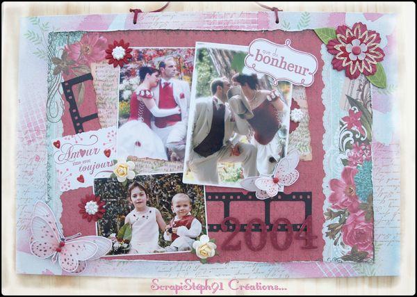 2012 août - 8 ans de mariage - cadre