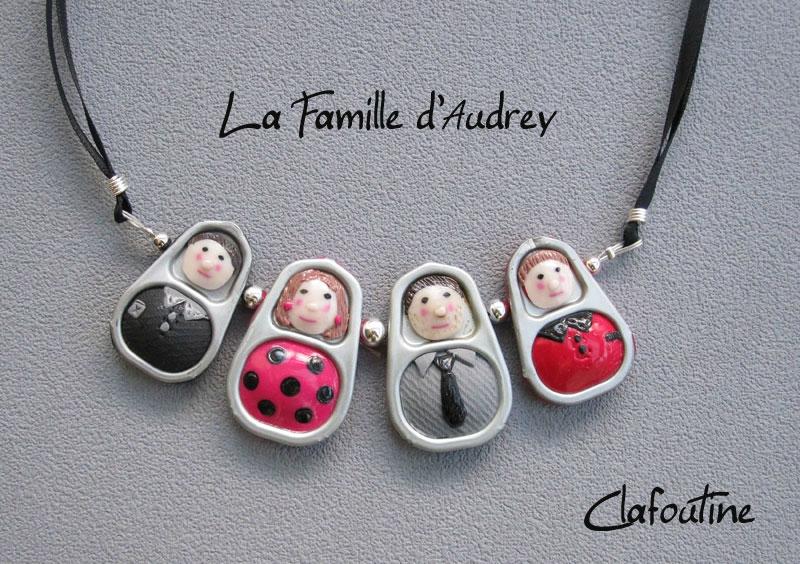 La famille d'Audrey