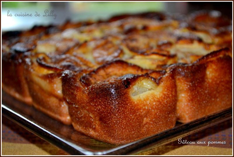Gateau Aux Pommes La Cuisine De Lilly