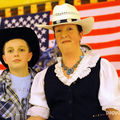 American country dancers