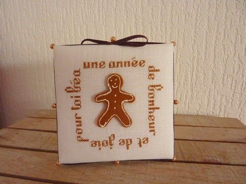 Pinkeep gingerbread man pour Béa