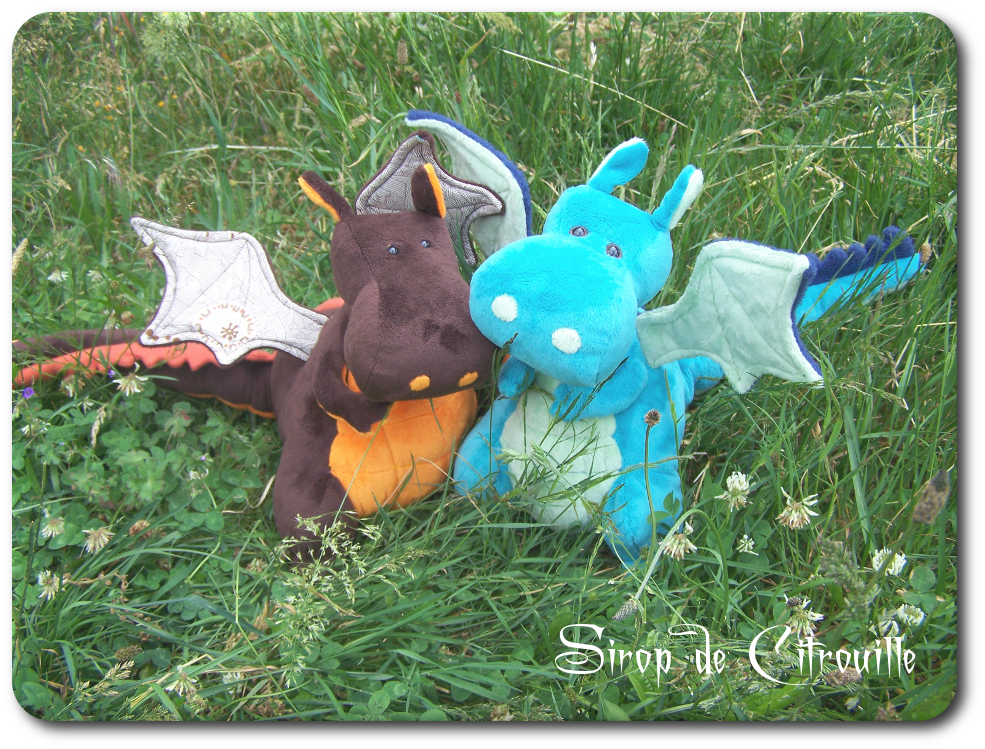 Dragon Sew Along... (Sous le sapin # 3)