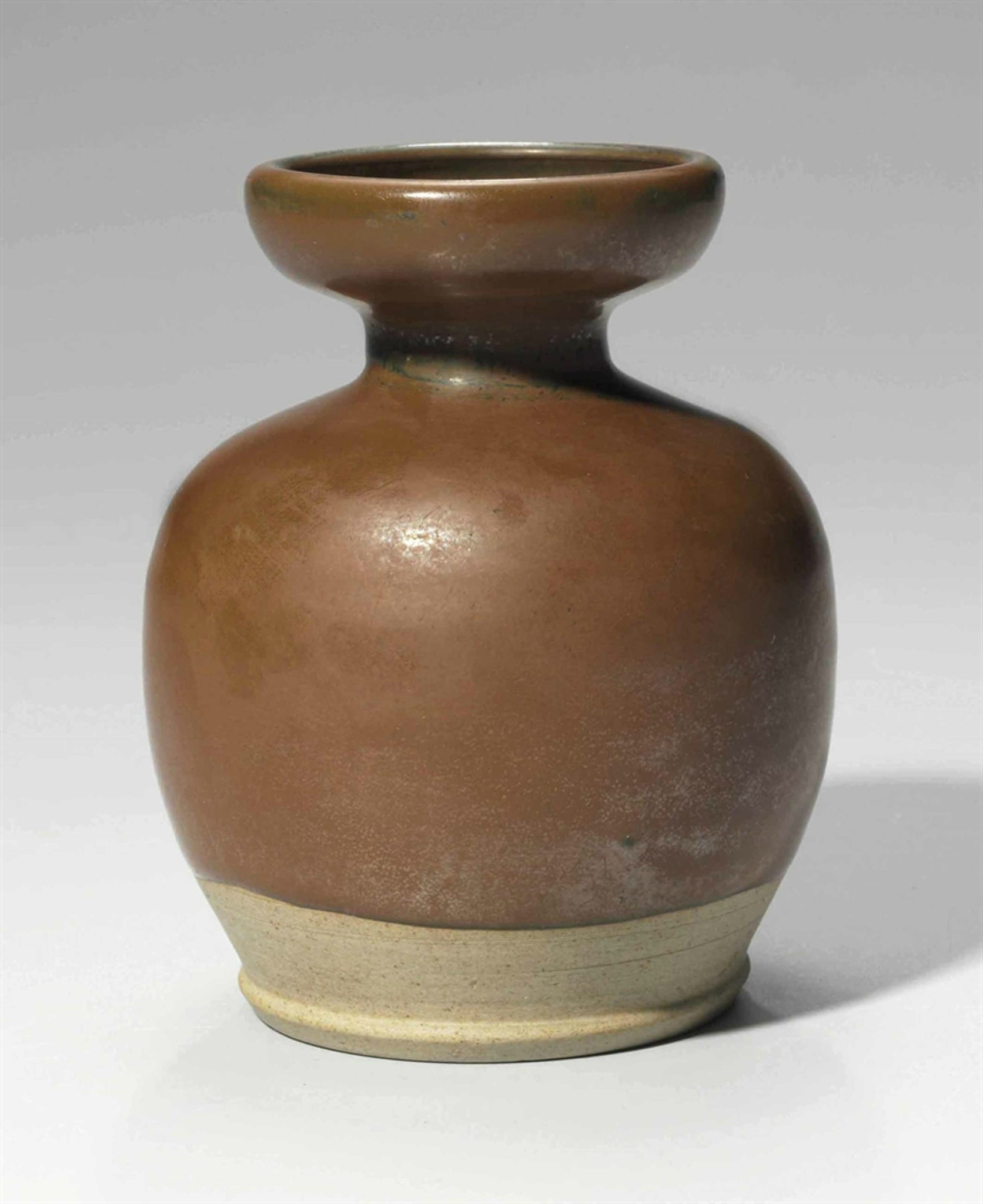 An unusual small Yaozhou russet-glazed jar, Northern Song dynasty, 11th-12th century